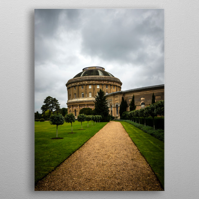 Ickworth House is a country house near Bury St Edmunds, Suffolk, England. It is a neoclassical building set in parkland. metal poster