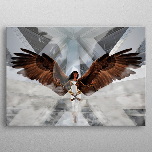 Agila is a character of Perlas ng Silangan fictional book. She is from the Sky Kingdom. Philipine Eagle gives her air power and weakness. metal poster