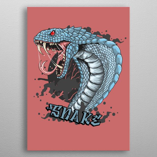 Visit mi web  for more designs.  Follow in Instagram/Facebook/Twitter: @freakcreator. metal poster