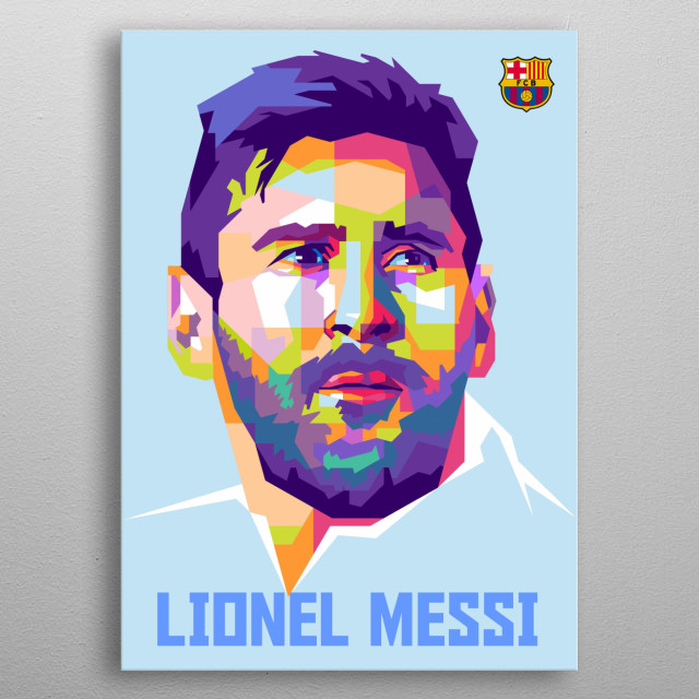 Lionel Andrés Messi Cuccittin (Born 24 June 1987) is an Argentine professional footballer who plays as a forward and captains metal poster