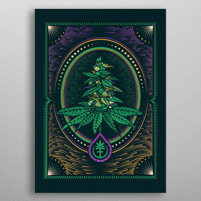This marvelous metal poster designed by NateDonDDD to add authenticity to your place. Display your passion to the whole world. metal poster