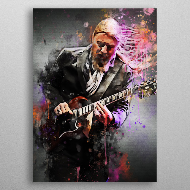 Derek Trucks is an American guitarist, songwriter, and founder of the Grammy Award, Derek Trucks Band.  He became an official member of The  metal poster