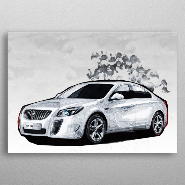 High-quality metal print from amazing Poly Car Collection collection will bring unique style to your space and will show off your personality. metal poster