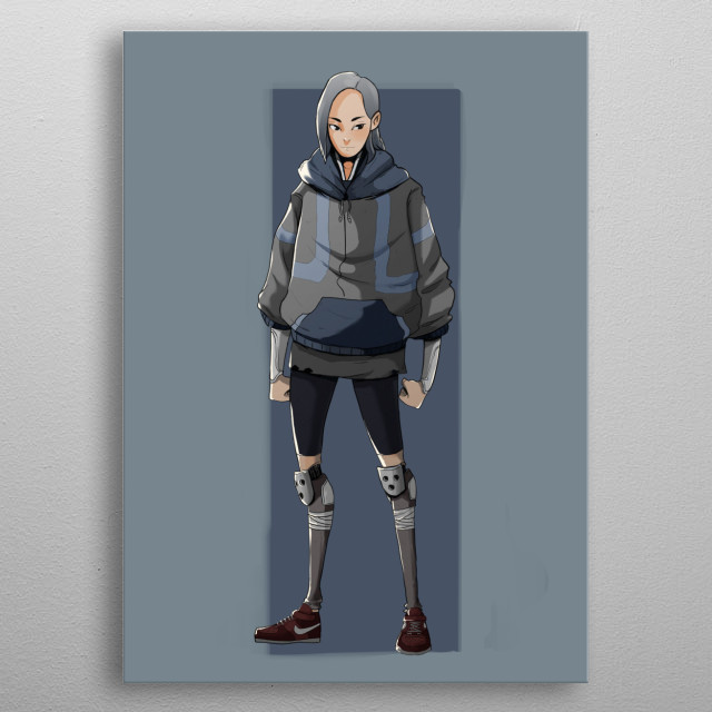 Lucy Wall is the daughter of doctor Malachy Wall, the dying daughter, after the doctor save her life she want to be a hero and save others. metal poster
