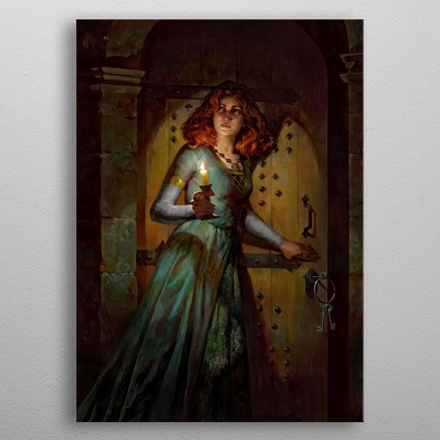 Duchess's Informant  metal poster