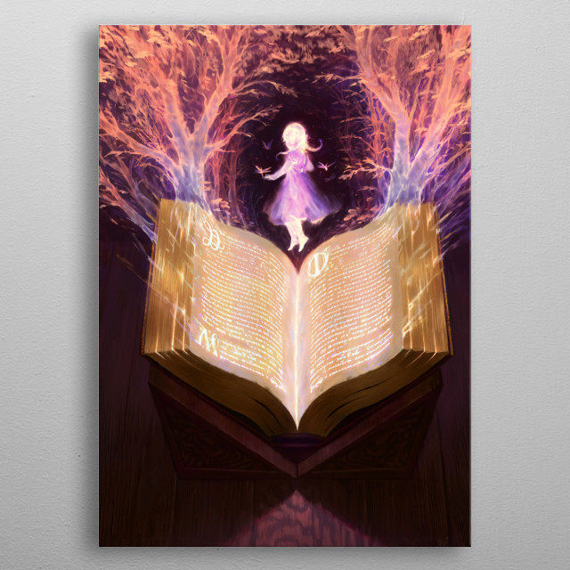 Land of a Thousand Fables  metal poster