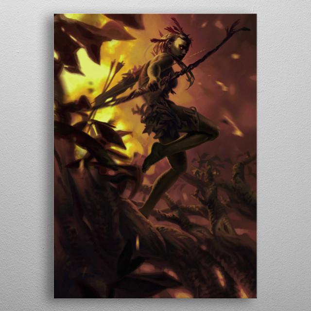 Sirssa  metal poster