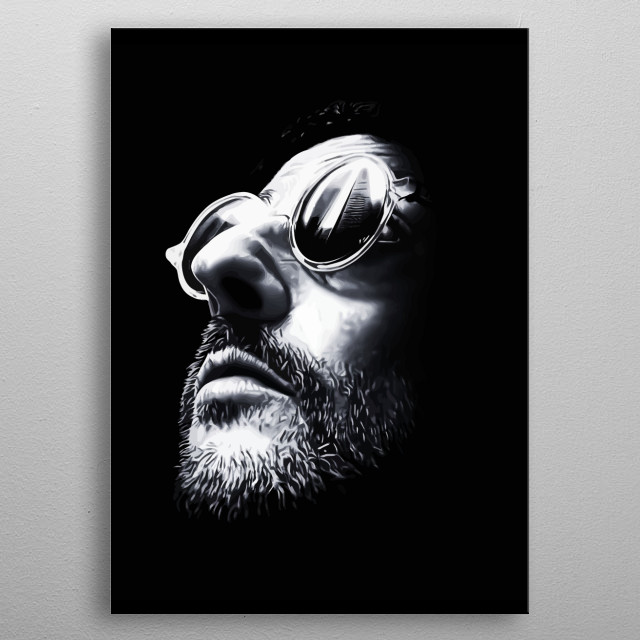 Leon Design Just For Leon Lovers Everywhere. metal poster