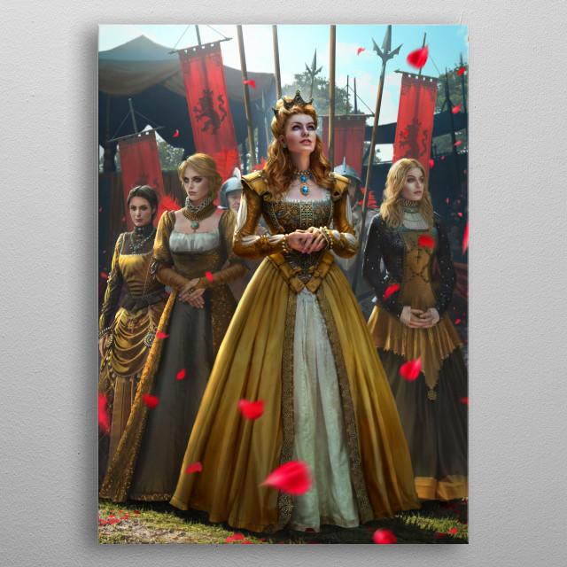 Anna Henrietta metal poster