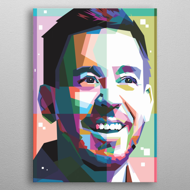 Mike Shinoda Design Just For Mike Lovers Everywehre. metal poster