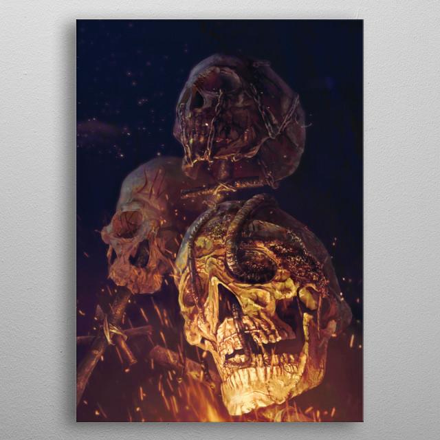 Curse of Corruption  metal poster