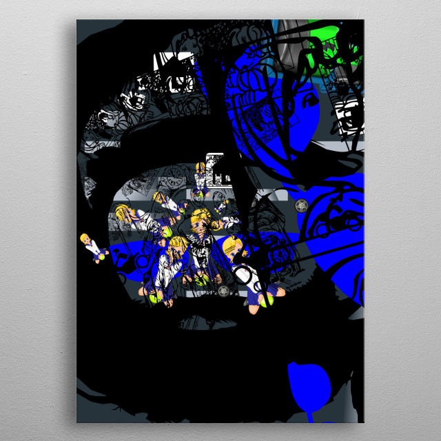 the poorest romentic dreamer metal poster