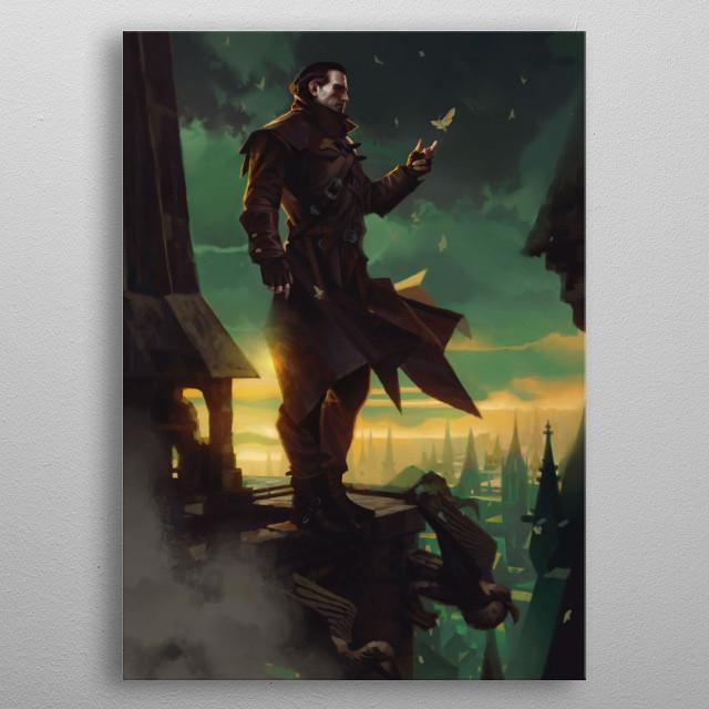 Dettlaff van der Eretein  metal poster