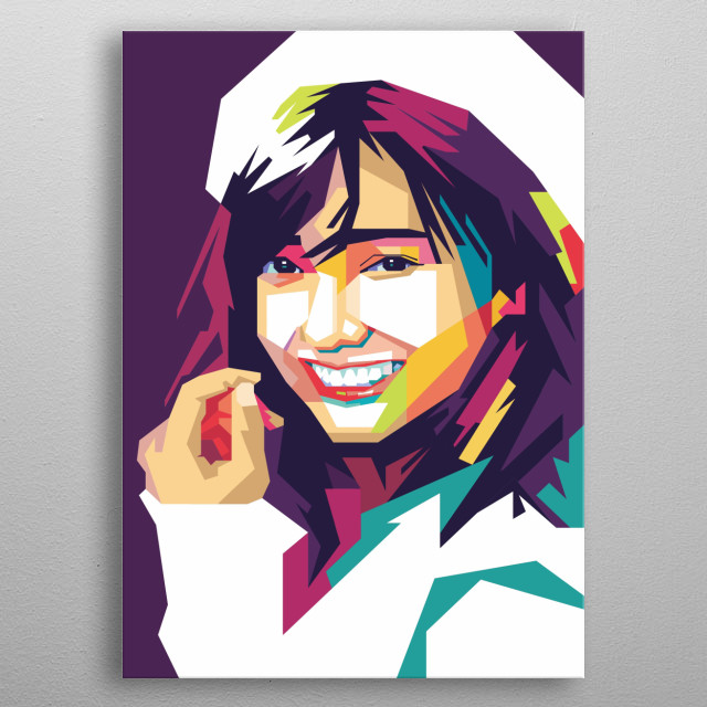 Viviyona Apriani, who is commonly called Yona, is an Indonesian singer and member of the JKT48 idol group from Bogor, Indonesia. metal poster