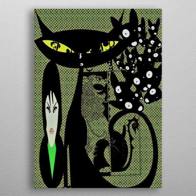 MOODS SWINGS EASILY metal poster