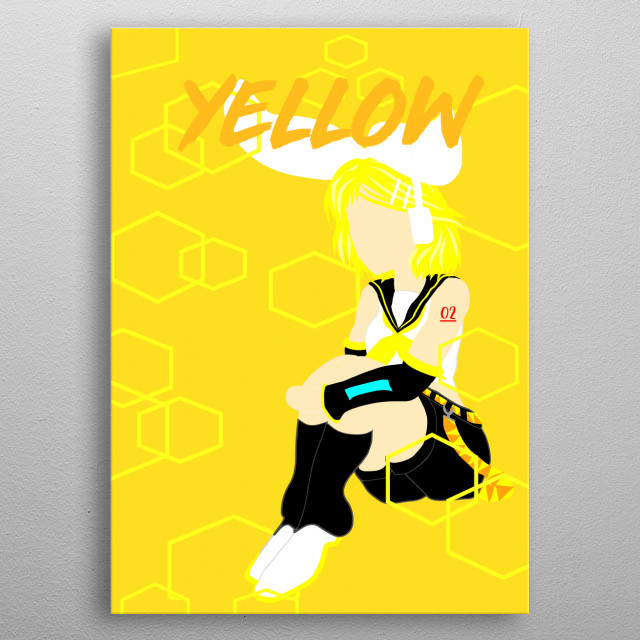Vocaloid Fans out there!!! Rin is here!! metal poster