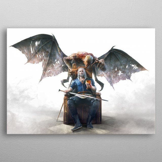 This marvelous metal poster designed by Witcher3 to add authenticity to your place. Display your passion to the whole world. metal poster