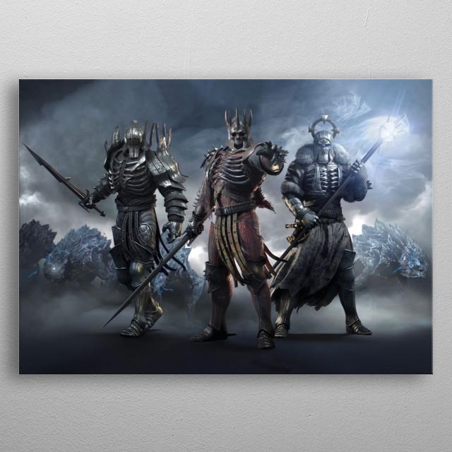 Wild Hunt metal poster