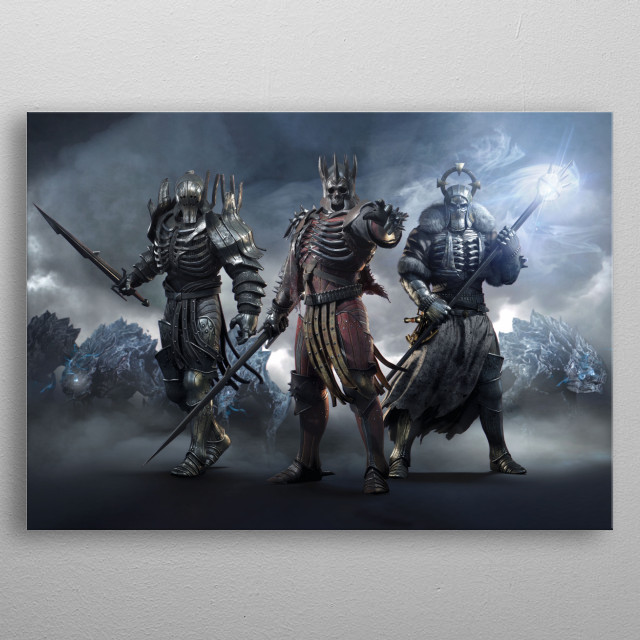 Fascinating  metal poster designed with love by Witcher3. Decorate your space with this design & find daily inspiration in it. metal poster