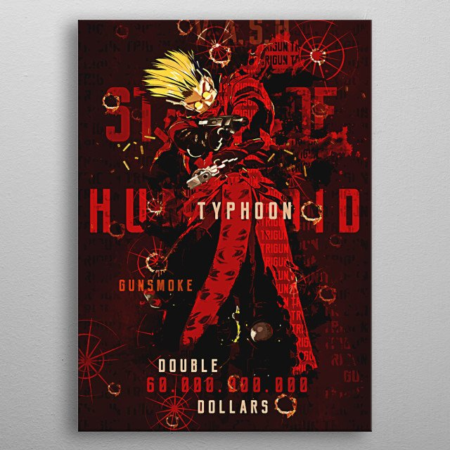 High-quality metal print from amazing Ultimate Anime Tribute collection will bring unique style to your space and will show off your personality. metal poster