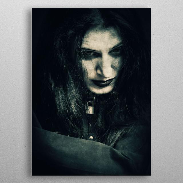 Asylum metal poster