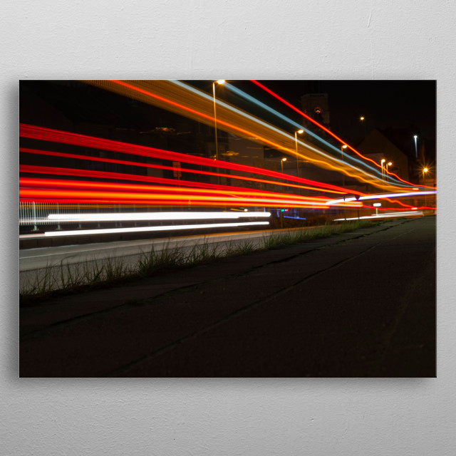 Life passes by so fast, Sometimes you just have to stand still and appreciate It.  metal poster