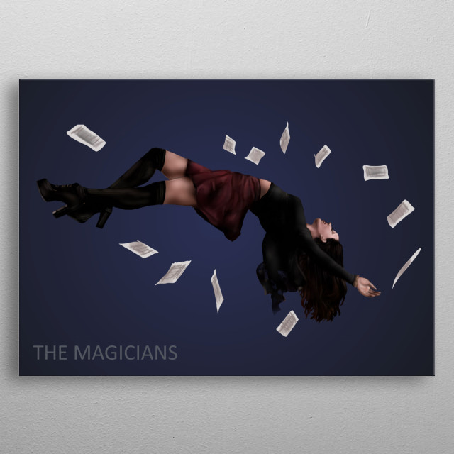 The Magicians, movie, celebrities, cinema, illustration, movie, scene, movie, canvas, banner metal poster