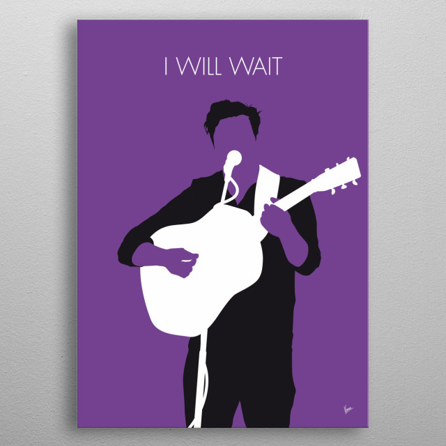 """Will Wait"" is a song by British rock band Mumford & Sons. The track was released as the lead single from the band's second studio album Bab metal poster"