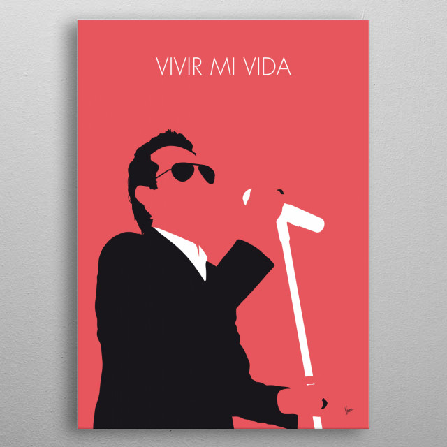 """In 2013 American singer Marc Anthony covered the Khaled song as a salsa tune titled """"Vivir Mi Vida"""" (""""Live My Life"""") for his studio album 3. metal poster"""
