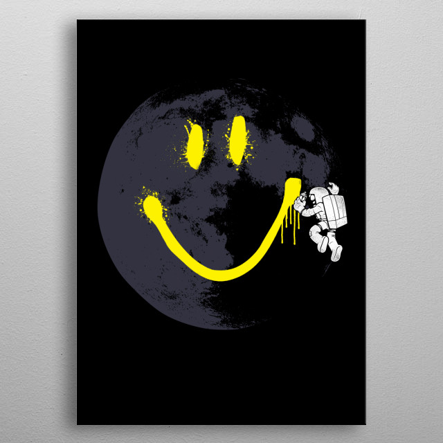 Do you love astronauts, galaxy and space shuttle?  metal poster