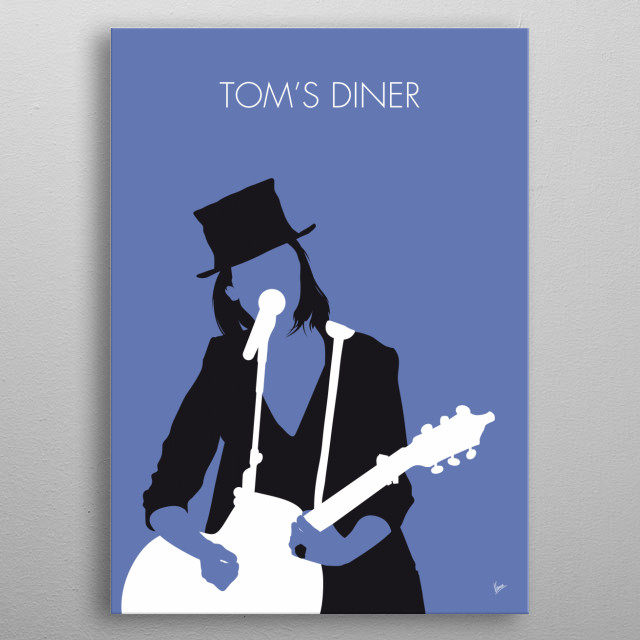 """Tom's Diner"" is a song written in 1982 by American singer and songwriter Suzanne Vega. It was first released as a track on the January 1984 metal poster"