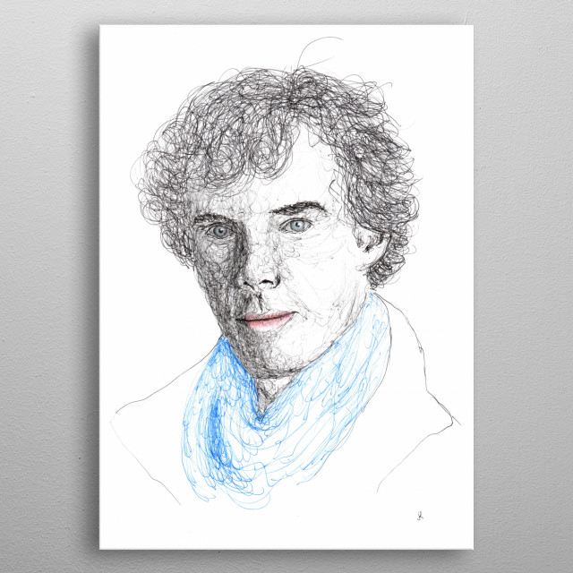 Benedict Tymoti Carlton Cumberbatch CBE is a British theater, film and television actor. Laureate Olivier and Emmy Award metal poster