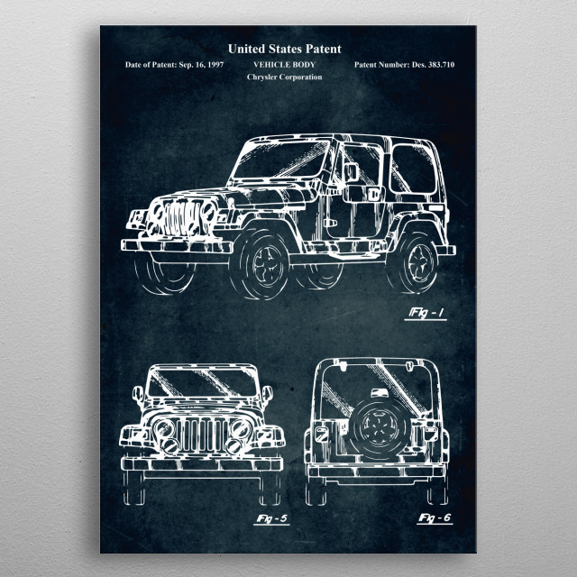 Patent  metal poster