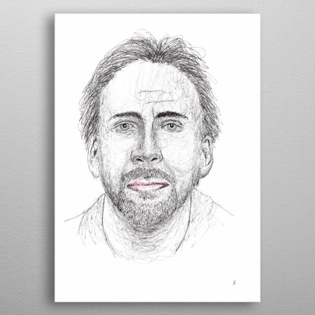 Nicolas Kim Cyprus, professionally known as Nicolas Cage, is an American actor, director and producer. metal poster