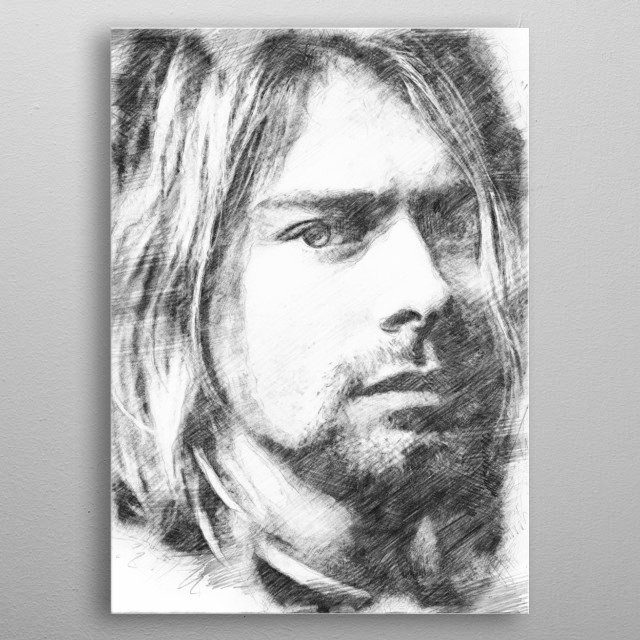 High-quality metal print from amazing Pencil Sketch collection will bring unique style to your space and will show off your personality. metal poster