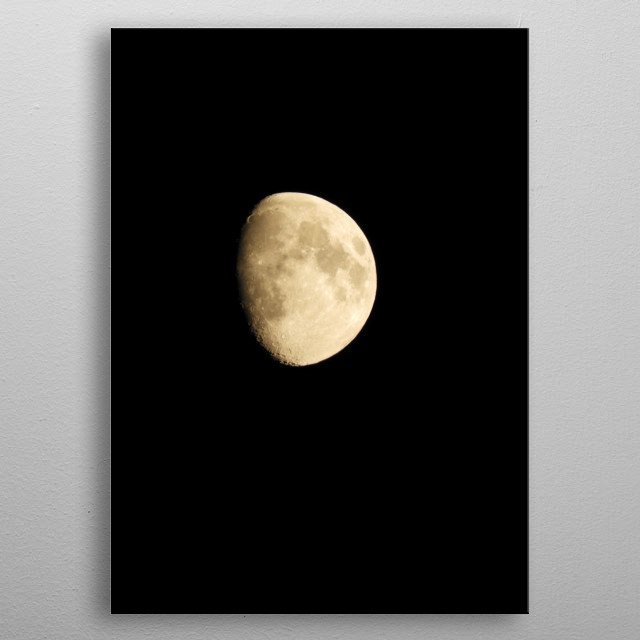 This marvelous metal poster designed by dimy to add authenticity to your place. Display your passion to the whole world. metal poster