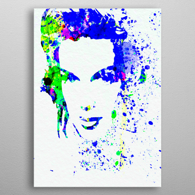 Watercolor painting celebrating one of our favorite movie stars Judy Garland. Please explore our collection of fanart. metal poster