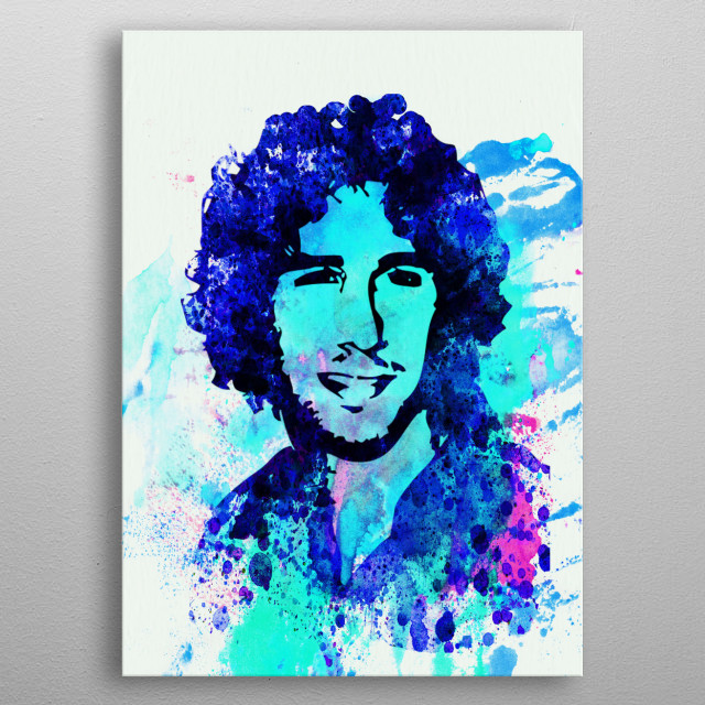 Watercolor painting of legendary music icon Josh Groban. Please explore collection of fanart. metal poster
