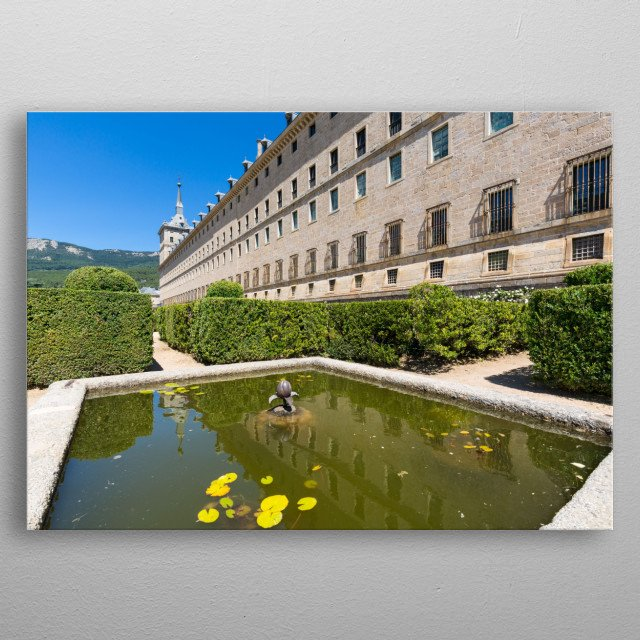 Royal Site of San Lorenzo de El Escorial metal poster