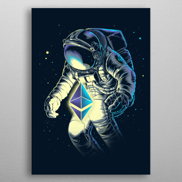 Rich spaceman. what do you think! :D metal poster