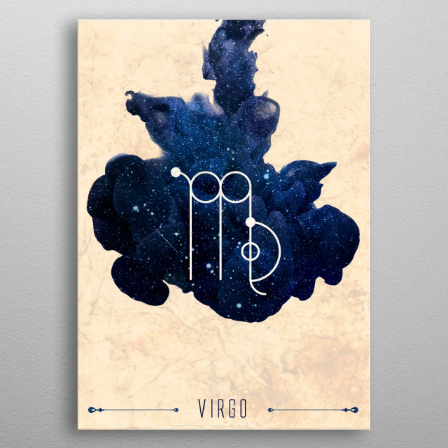 High-quality metal print from amazing Zodiaco collection will bring unique style to your space and will show off your personality. metal poster
