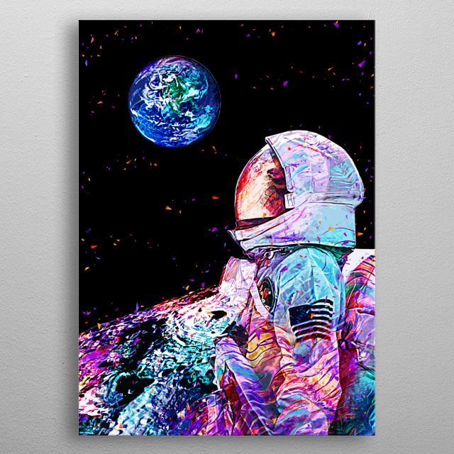 Far from home, inspired artwork metal poster