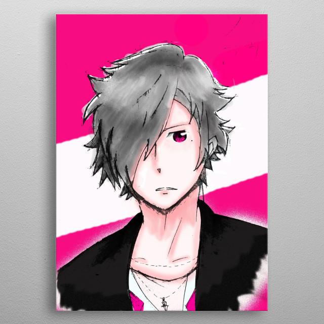 Tsubaki Asahina <3 metal poster