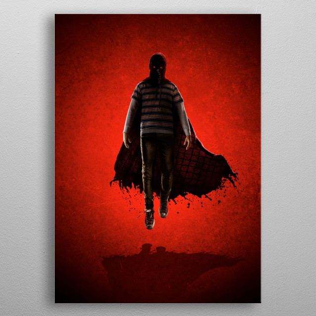 Movie Poster without text metal poster
