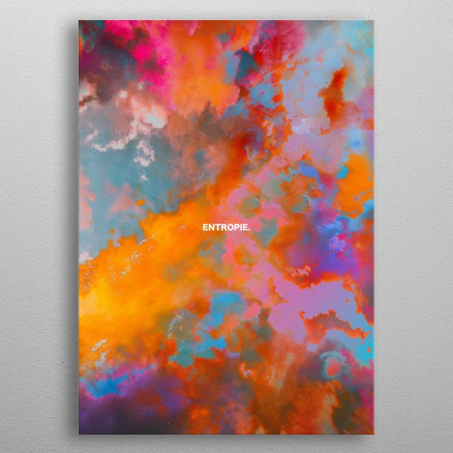 Clouds are one of the most fascinating natural elements to observe, add colors and the mix is perfect ! metal poster