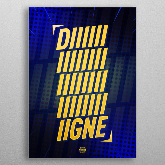 Digne Limited Edition     metal poster