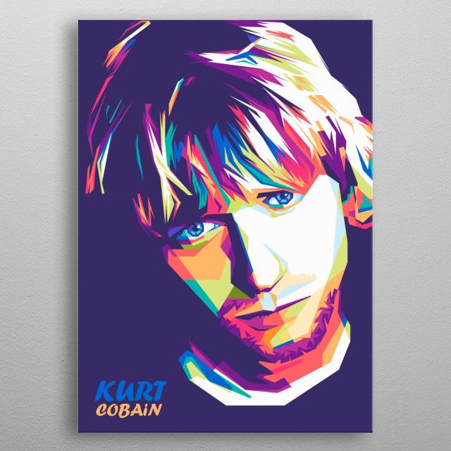 Kurt Donald Cobain WPAP by danang bisma | metal posters