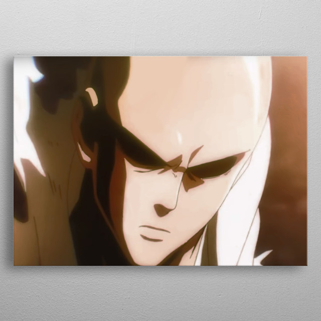 Serious Punch (coloration fixed) metal poster