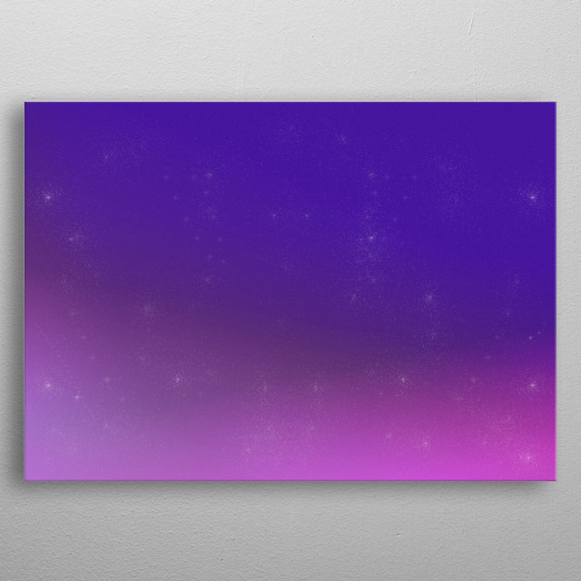 space background  metal poster