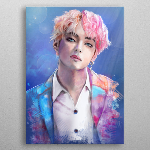Colorful boy :). metal poster